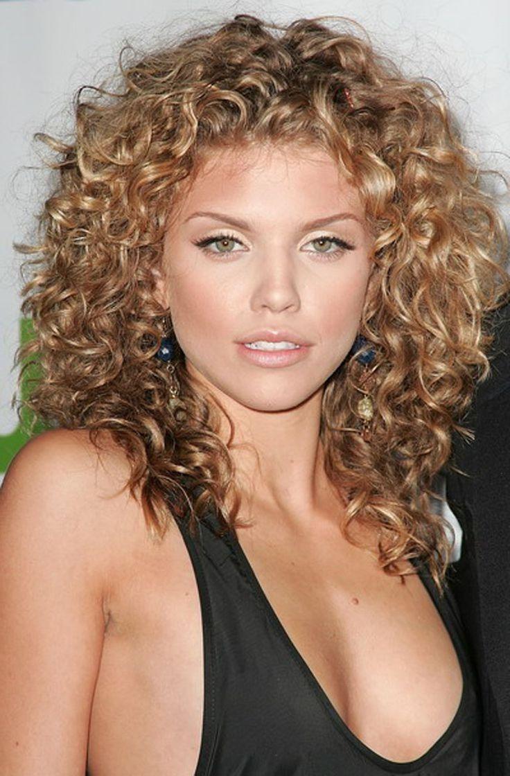 shoulder length curly