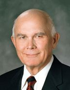 "Dallin H. Oaks.  ""Weightier Matters"" qualities of faith and the love of God and His work"