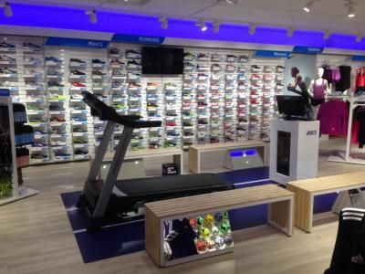 Running Gait Analysis Centre in the new Intersport Lincoln Concept Store www.intersportlincoln.com
