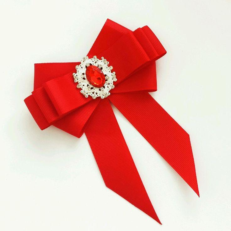 Брошь-галстук ' Алые паруса&#39