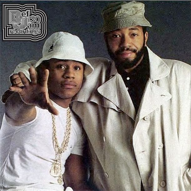 Nice Throwback - Russell Simmons & LLCoolJ  Oh that LLCoolJ!! Lord he don't age & he'll forever be my future ex husband!! One HOT brother!!