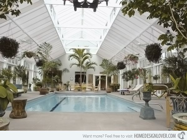 15 Stylish Pool Enclosure for Year-Round Pool Usage