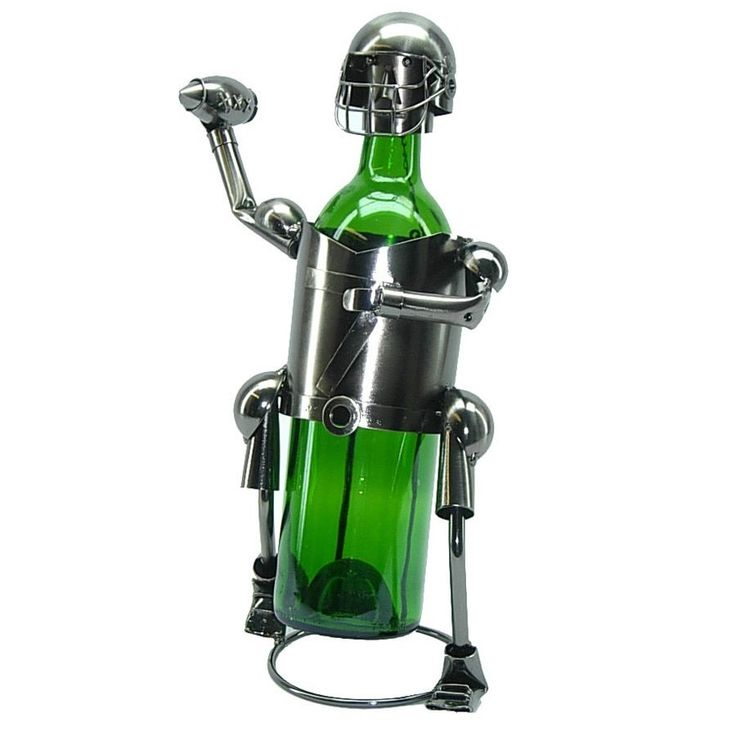 (Red) Bottle Holder Football Player Caddy