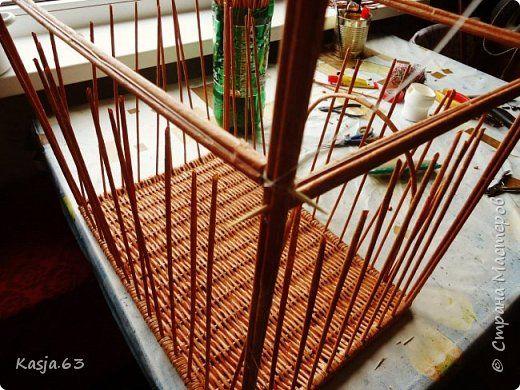 Поделка изделие Плетение Обнова для дочи Трубочки бумажные фото 10