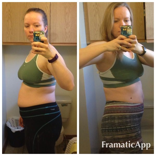 21 day fix results before and after