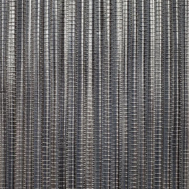 WM8803601 Wallpaper gray black silver metallic Textured