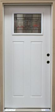 Merveilleux Steel Exterior Door   Primed