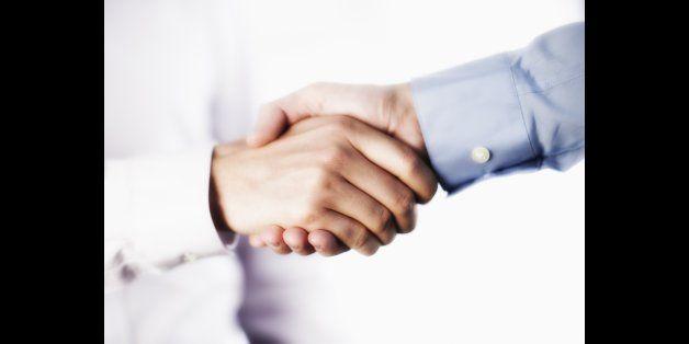 Handshakes That Grab Respect