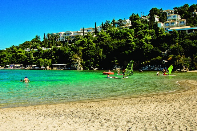 Sivota The Retreat, Greece    Fantastic waterskiing and wakeboarding  Excellent for tennis  Great Fitness programme  NEW for 2012 - Road Bikes  Triathlon training camp  Amazing views  Champagne and sunset yacht cruise  Stunning coastline to explore  ..