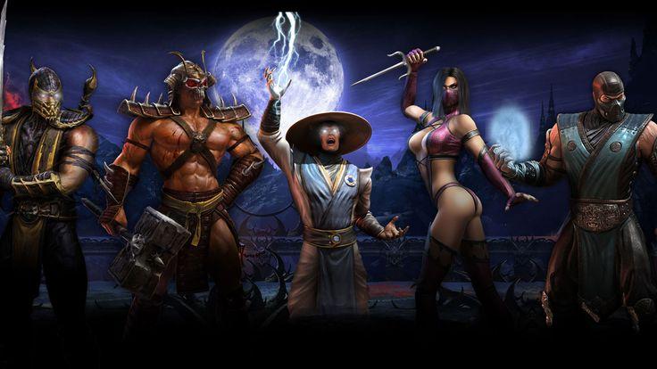 Scorpion, Shau Khan, Raiden, Mileena, Sub-Zero