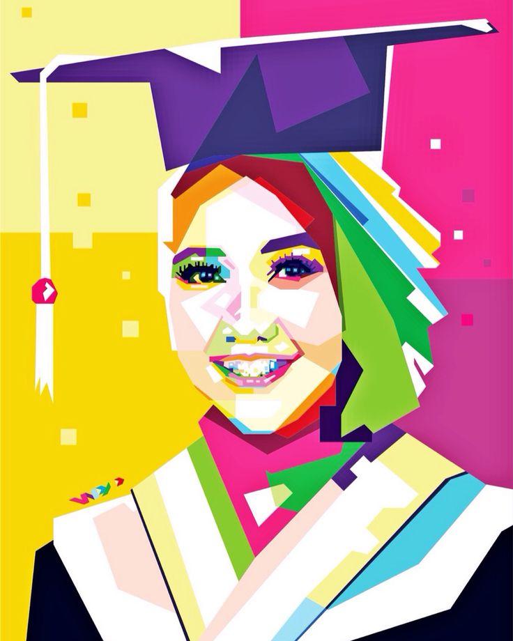 Thanks for order   #wpap #vector #illustration #scetch #draw #art #design #popart #digitalart #bestart #gift #toga #graduated #girl #makassar