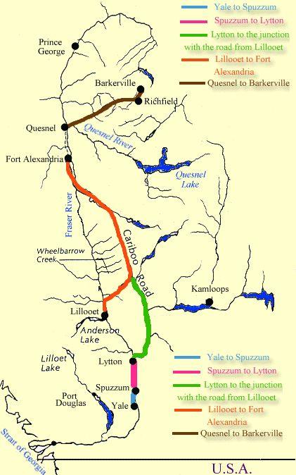 The Cariboo Wagon Road