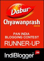 Runner Up at Dabur chyawanprash contest won vouchers worth 1000