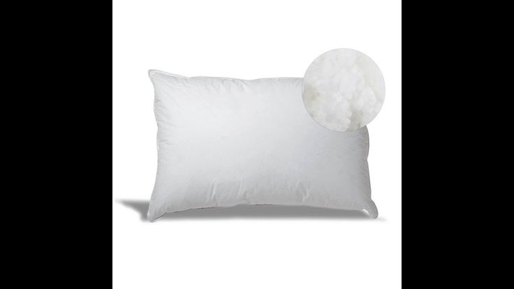 Overfilled Down Alternative Back/Side Sleeper Pillow - Hypoallergenic Fill 100% Cotton Ticking https://www.youtube.com/watch?v=uqnuSlsspFQ