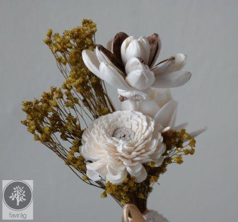 Parfum wood Flowers--Fragrans without flames--Mini Illat Csokor