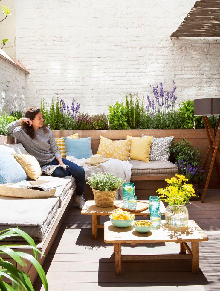 17 mejores ideas sobre jardines peque os en pinterest for Terrazas para patios pequenos