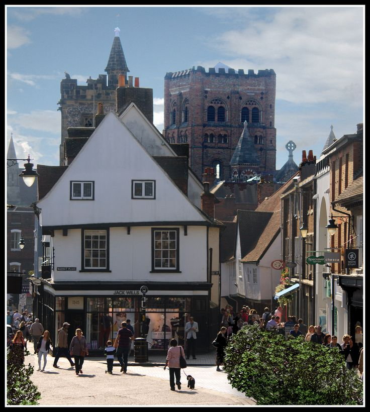St Albans, Hertfordshire_ England