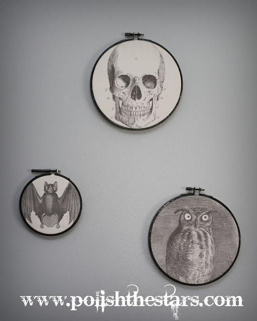 DIY : Embroidery Hoop Art
