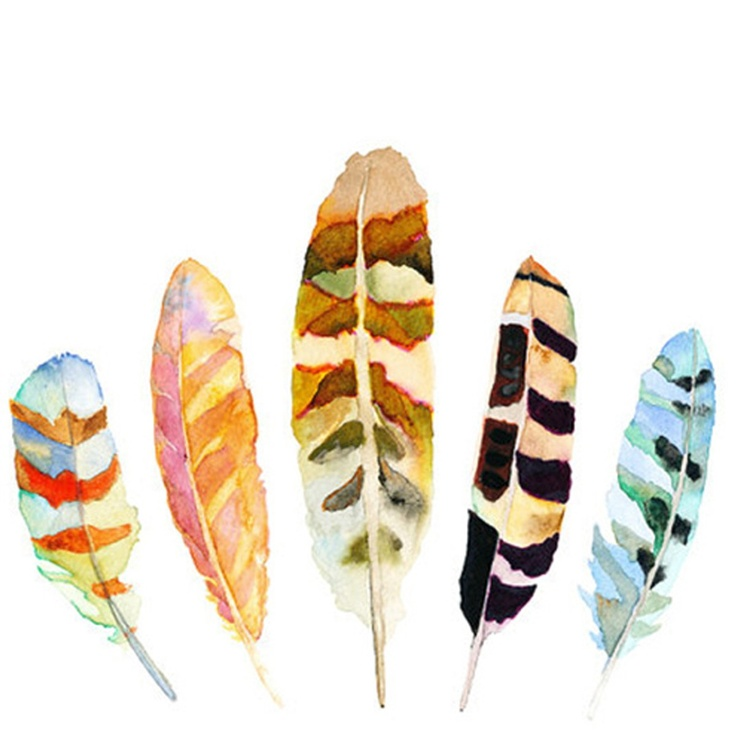 Feather Print via Furbish