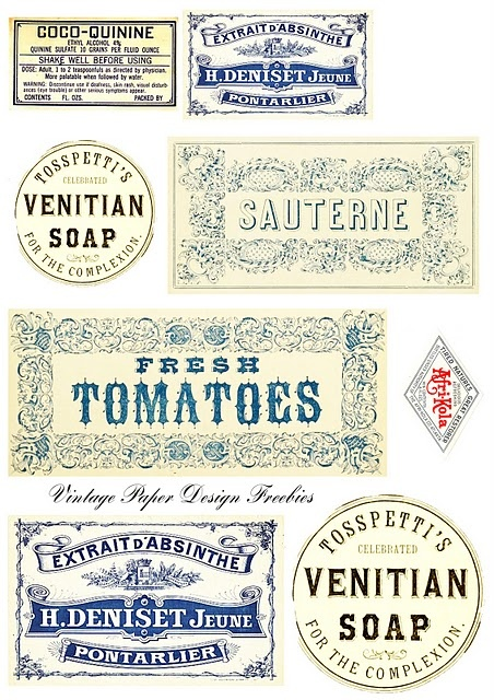 Printable labels freebie