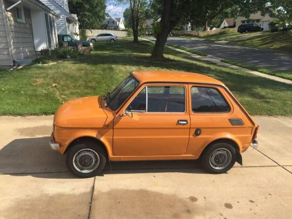 Rare in the USA: 1983 Polski Fiat 126