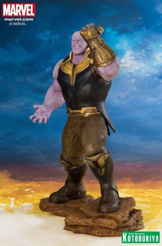 Infinity War KOTOBUKIYA //ARTFX Avengers Thanos STATUE 1//10 SCALE IN STOCK