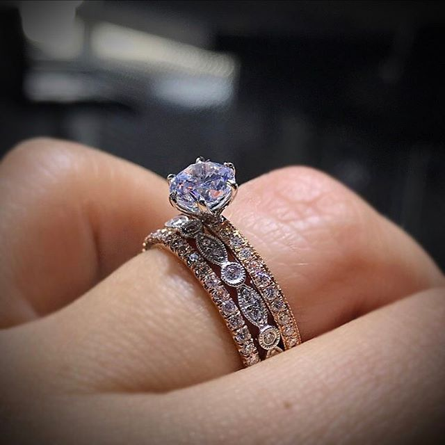 The beauty of A. Jaffe engagement rings