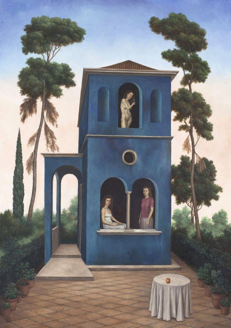 Οι ονειρικές, ρεαλιστικές εικόνες του Νίκου Αγγελίδη στην Γκαλερί Σκουφά [εικόνες] | iefimerida.gr