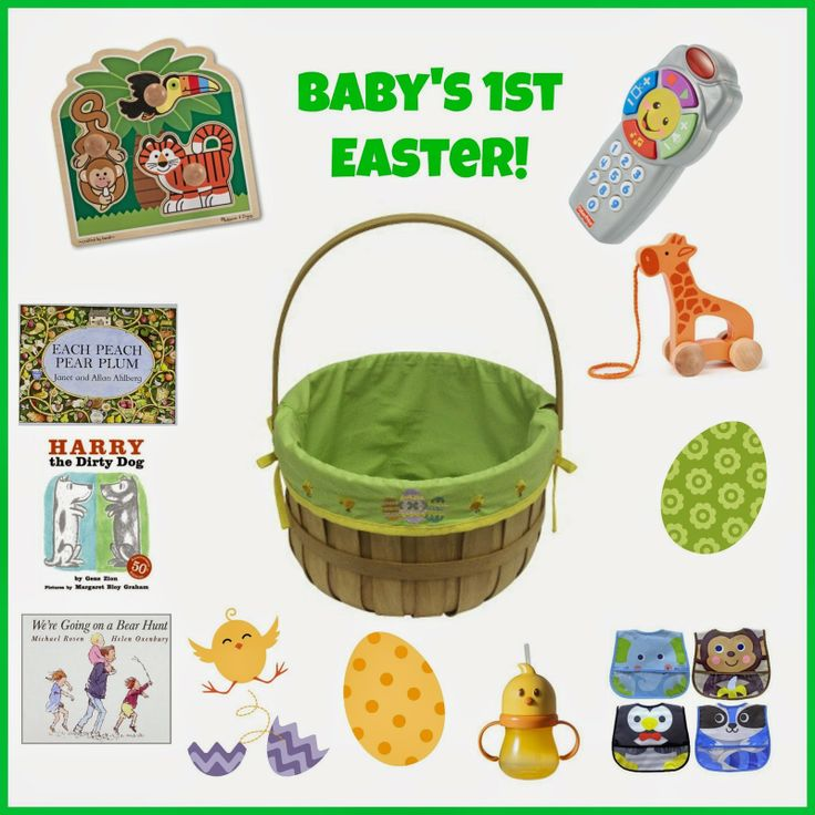 The 25 best babys first easter basket ideas on pinterest babys first easter basket negle Gallery