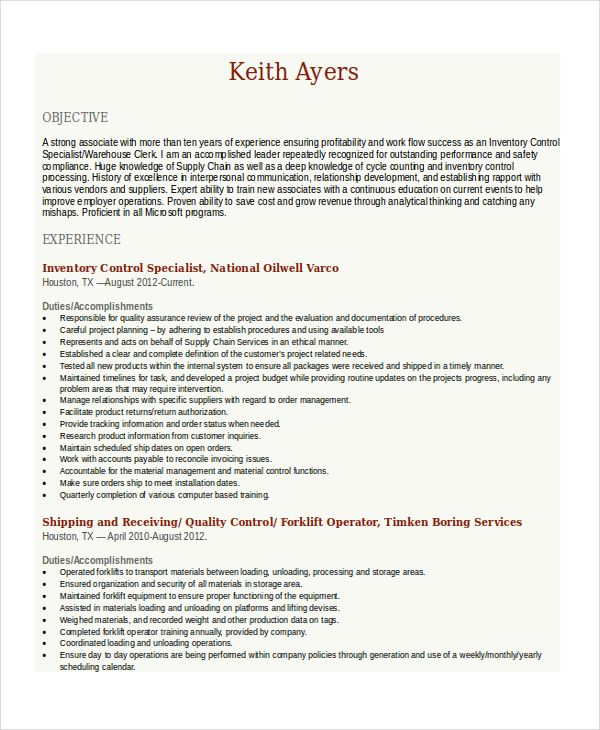 forklift resume effective heavy equipment operator cover letter part basic warehouse driver samples and templates