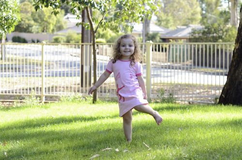 Our Fairy on the Loose dress on one happy and super-cute Young and Moodie ambassador.