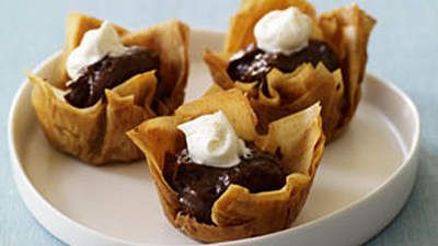 Mocha Phyllo Cups | Sweets and treats aren't off-limits if you're aiming for a heart-healthy diet. You just have to choose carefully.
