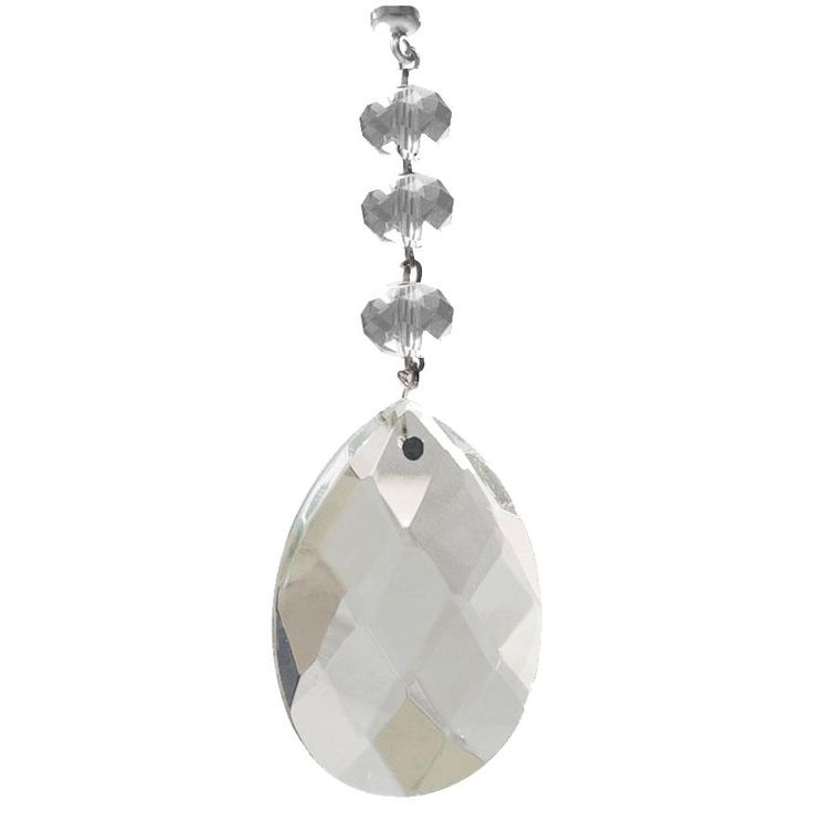 129 best magnetic chandelier crystals magnetic chandelier garland acrylic almond clear clear top beads clear acrylic crystal bottom magnetic acrylic crystal these budget friendly magnetic charms are perf aloadofball Choice Image