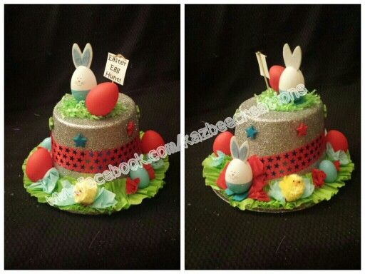 Boys Easter Hat for Easter Bonnet Parade.   www.facebook.com/kazbeecreations