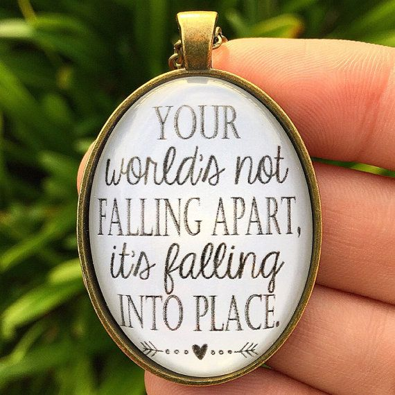 Casting Crowns Just Be Held Pendant Necklace by RedeemedJewelry