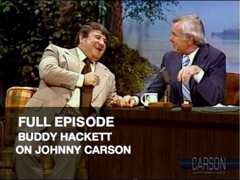 JOHNNY CARSON FULL EPISODE: Buddy Hackett, Funny Kids' Letters, Tonight ...