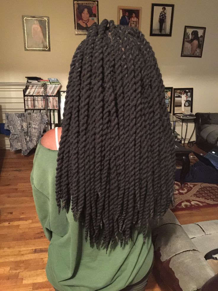 Yarn twists by SOEXQUISITEBRAIDS