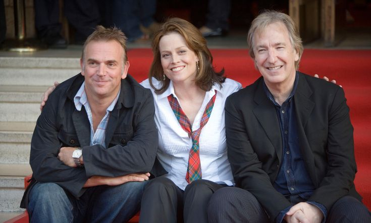 "Tuesday, August 15, 2006 at the Edinburgh Festival premiere of ""Snow Cake."" File photo dated August 15th 2006 of Sigourney Weaver (center) with Director Marc Evans (left) and co-star Alan Rickman at the Dominion theatre in Edinburgh for the Premier of ""Snow Cake"" during the Edinburgh International Festival. Photograph: Andrew Milligan/PA Wire  ""I'll remember his kindness and creativity"" readers' tributes to Alan Rickman"