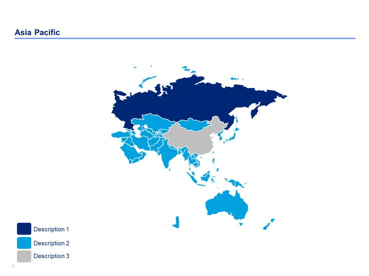 Editable Asia Pacific map for powerpoint