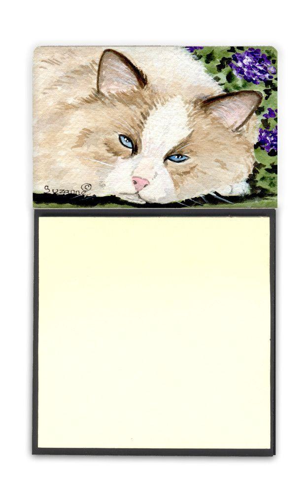 Cat Refiillable Sticky Note Holder or Postit Note Dispenser SS8825SN