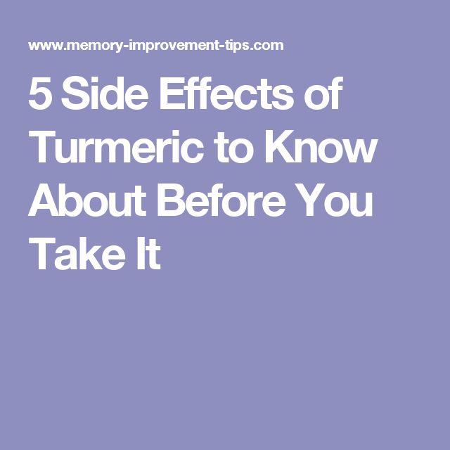 Best 25 Turmeric Side Effects Ideas On Pinterest