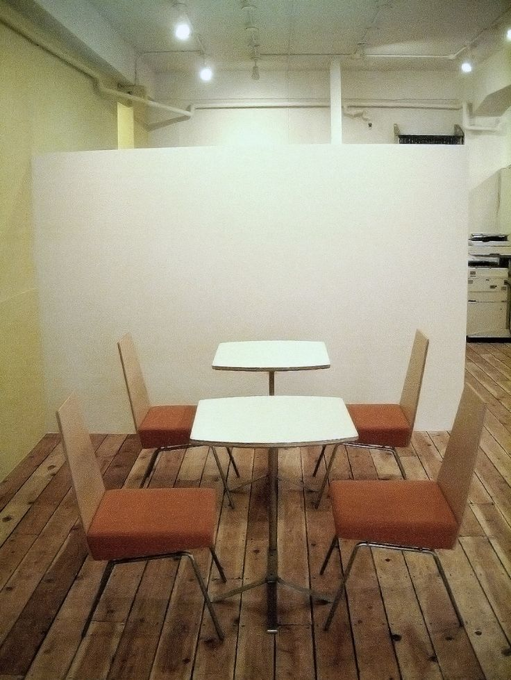 Tables and chairs, made for real estate office in Osaka, JAPAN