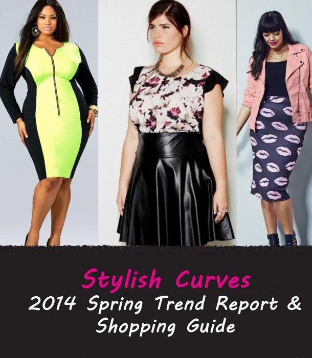 Current Fashion Trends 2014 Plus Size Stylish Curves 5th Annual Plus Size Spring Trend Report