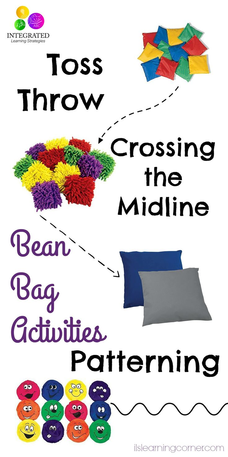 The Best Bean Bags for Sensory, Proprioception, Motor Planning and Visual Motor | ilslearningcorner.com