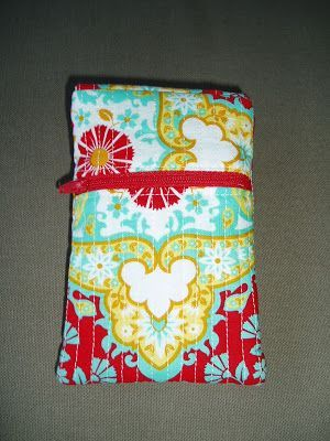TISSUS, hilos & crafts tuto du protege portable