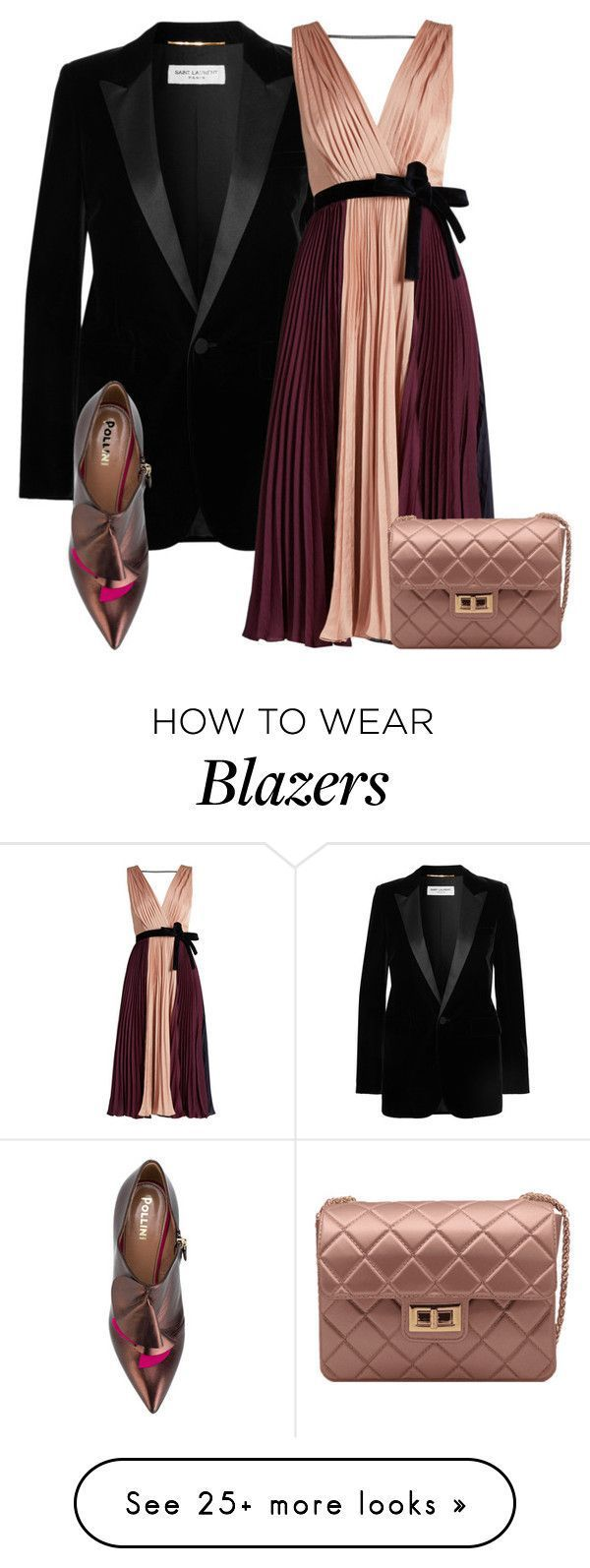 """""""Untitled #614"""" by penelope-panopoulou on Polyvore featuring Yves Saint Laurent …"""