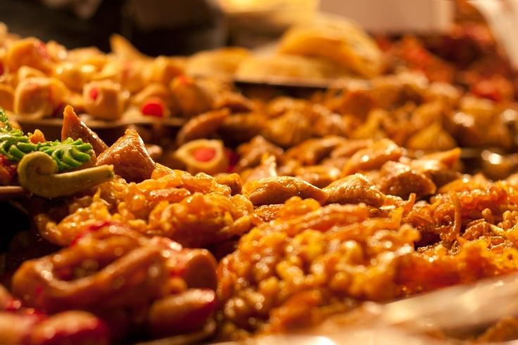 Teigblätter mit viel Honig und Zucker, Marrakesch, Marokko
