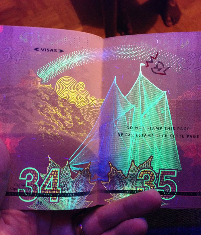Canadian passport has potentially earned the unexpected distinction of being the coolest passport to pull out at a rave.