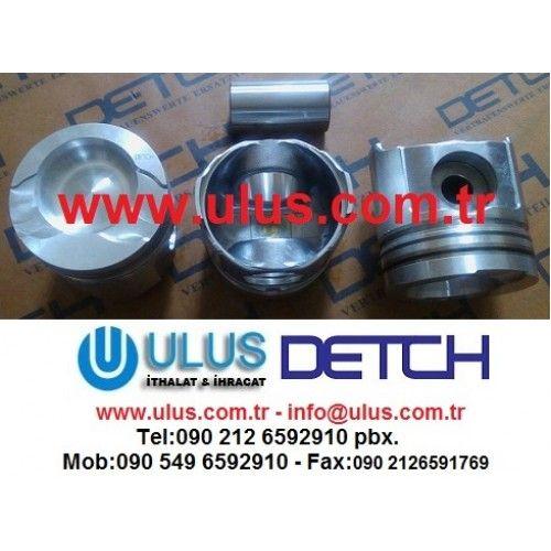 6222-31-2110 Piston Komatsu Orjinal DETCH Piston, SA6D108 PC300-5 DETCH Komatsu Motor Parçası