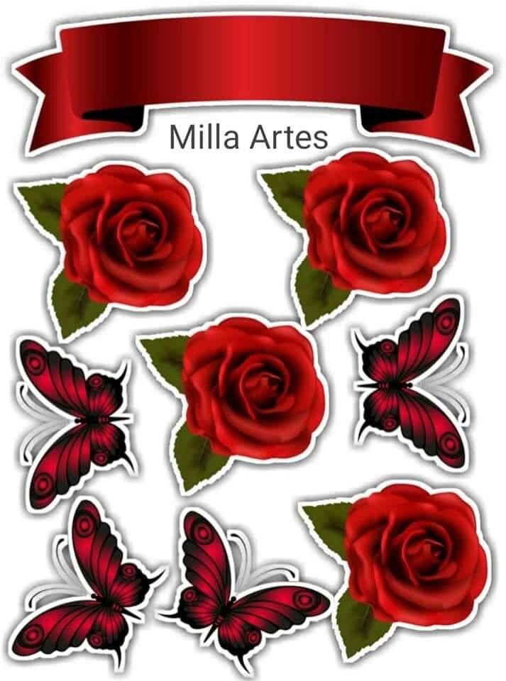 Rosas Vermelhas Em 2020 Bolo De Aniversario Rosa Bolo Com